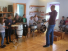 Kulturni dan za 3. razred - Likovno-glasbena delavnica v Groharjevi hiši - 31. 5. 2019