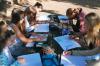 Učilnica na prostem - poskus dokaza kislosti in bazičnosti
